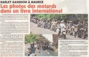 Harley Davidson in Le Defi Quotidien - 8.04.14
