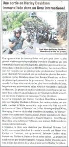 Harley Davidson gathering in Mauritius - 6.04.14