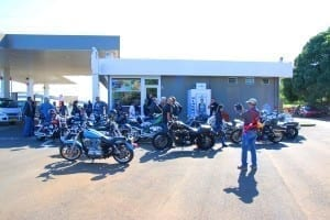 Harley Davidson owners gathering in Mauritius
