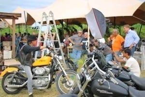 Harley Davidson shoot