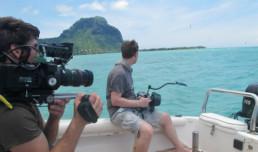 Film Shooting - Mauritius
